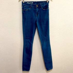 Madewell Blue High Rise Jeans